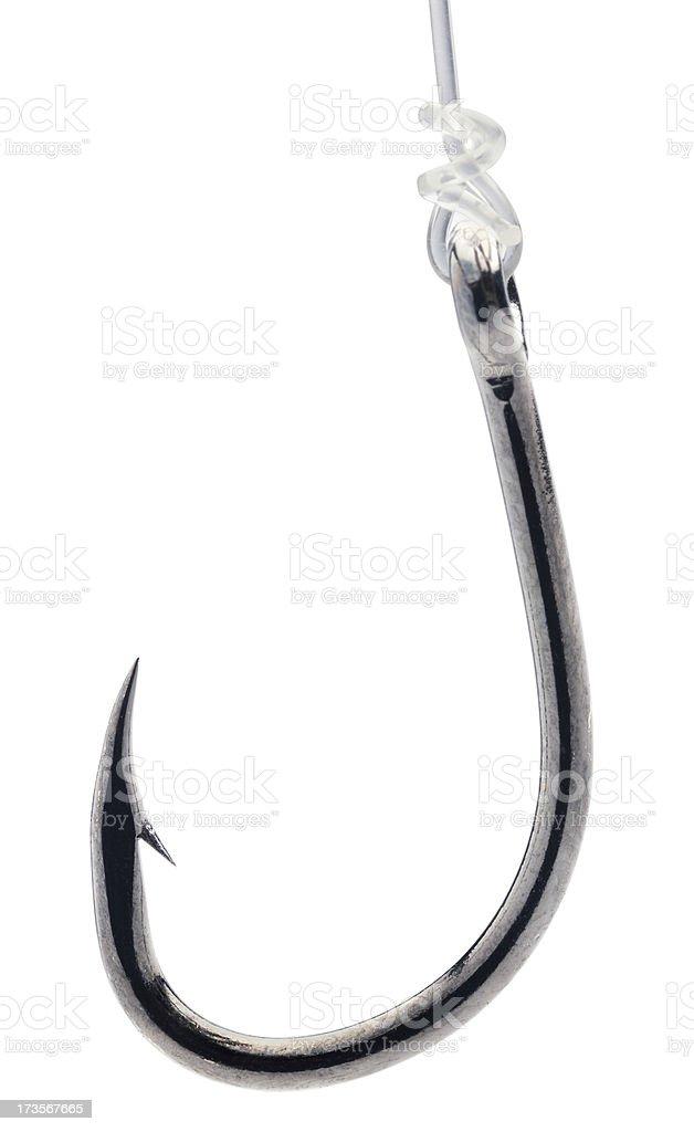 Fish Hook royalty-free stock photo