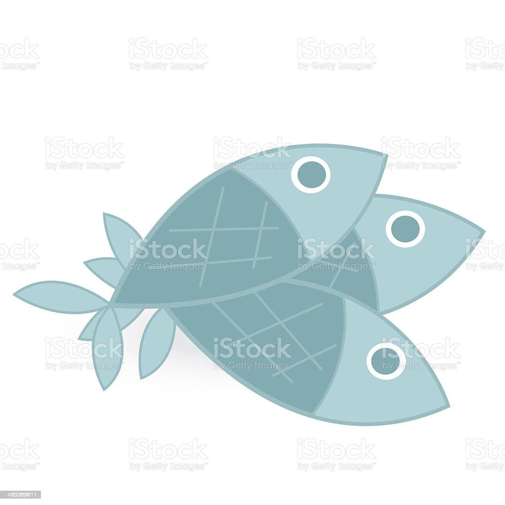 fish isolated on white background stock photo