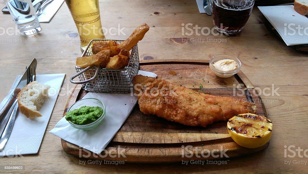 Fish 'n Chips stock photo