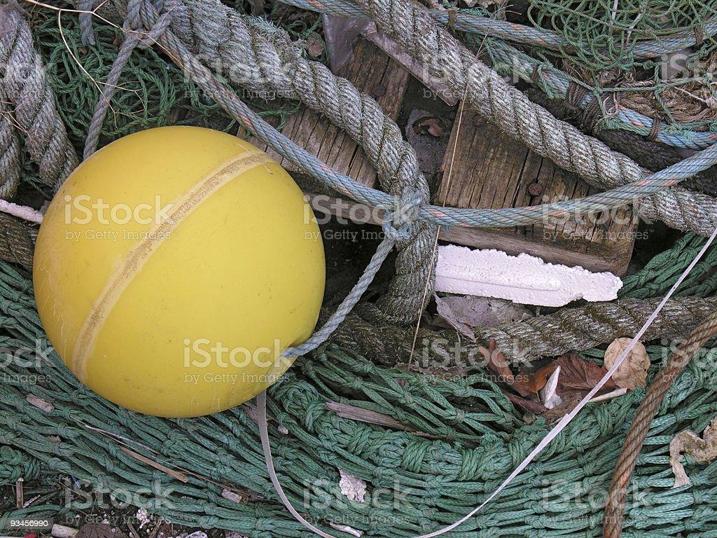 Fish net2 royalty-free stock photo