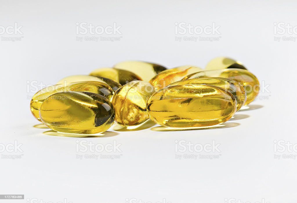 fish oil 1_filtered copy royalty-free stock photo
