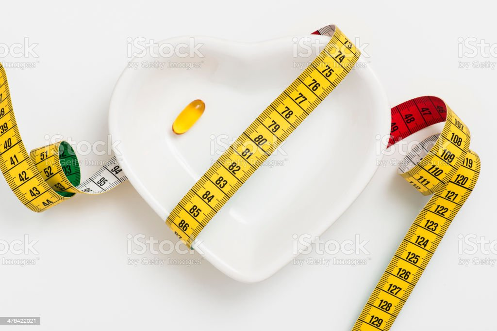 Fish oil capsule royalty-free stock photo