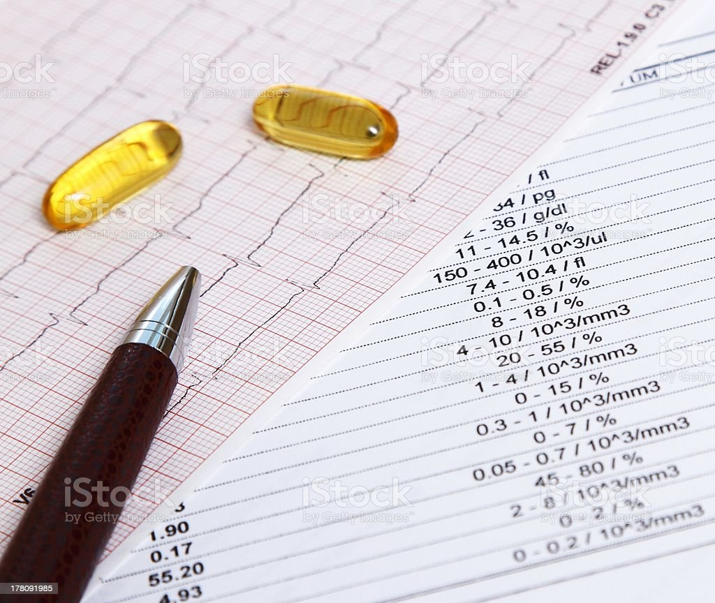 Fish oil for heart disease prevention royalty-free stock photo