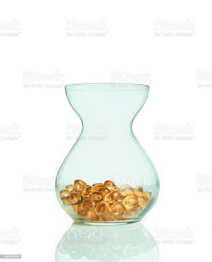 Fish oil. royalty-free stock photo