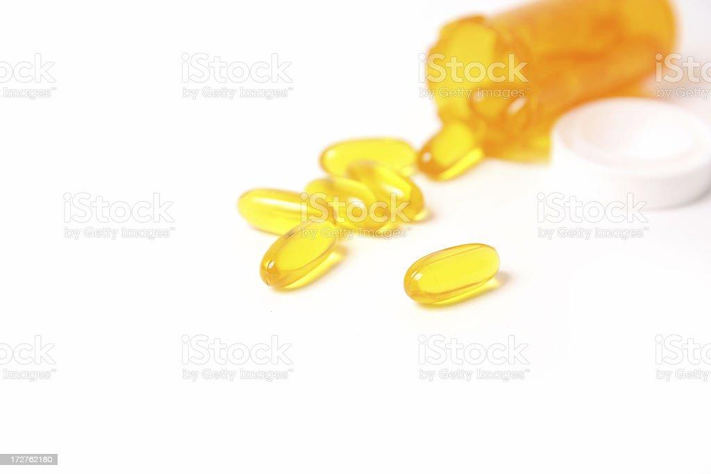 Fish Oil royalty-free stock photo