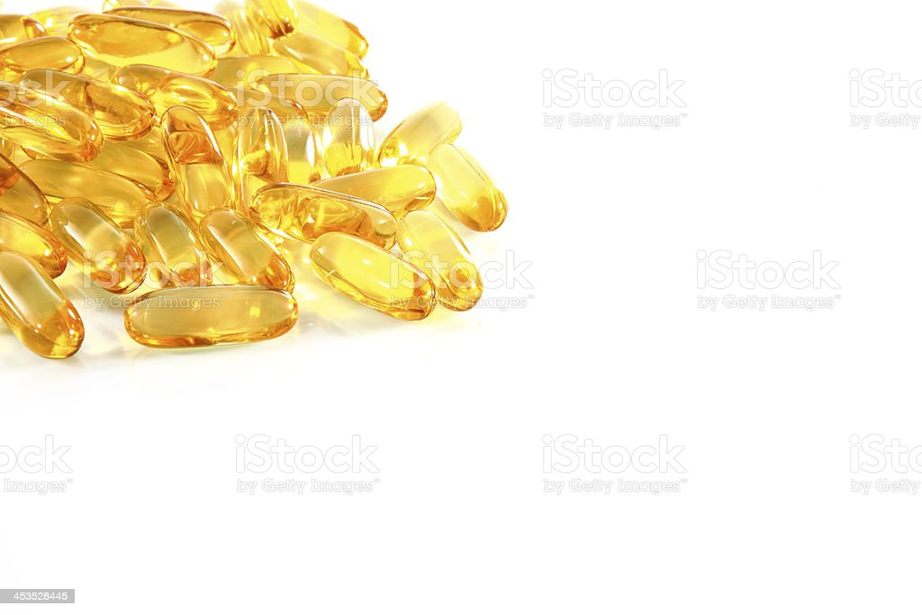 fish oil royalty-free stock photo