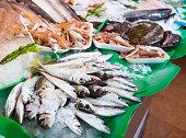 fish on fish market