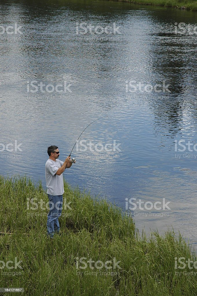 Fish On royalty-free stock photo