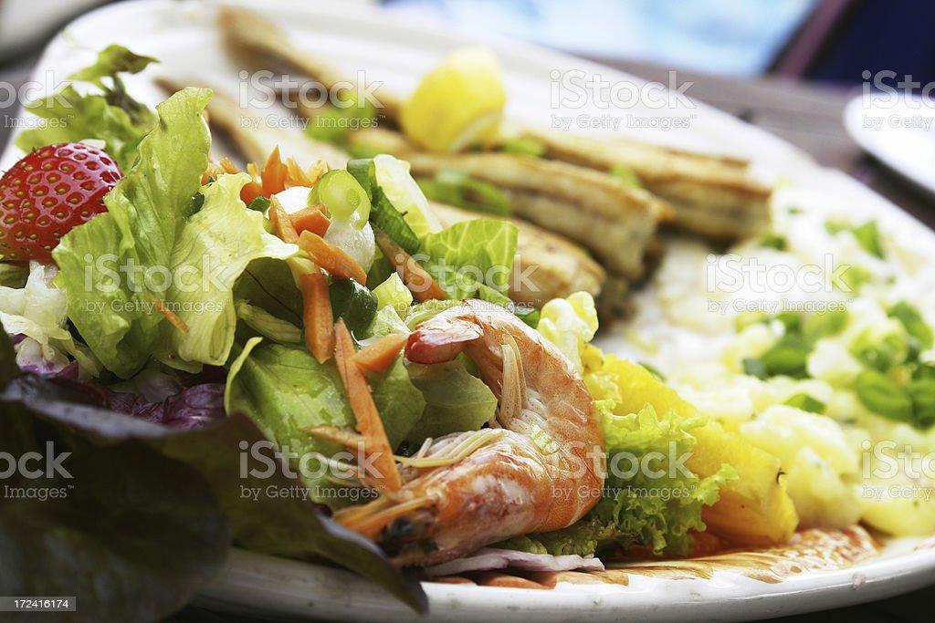 Fish Platter royalty-free stock photo