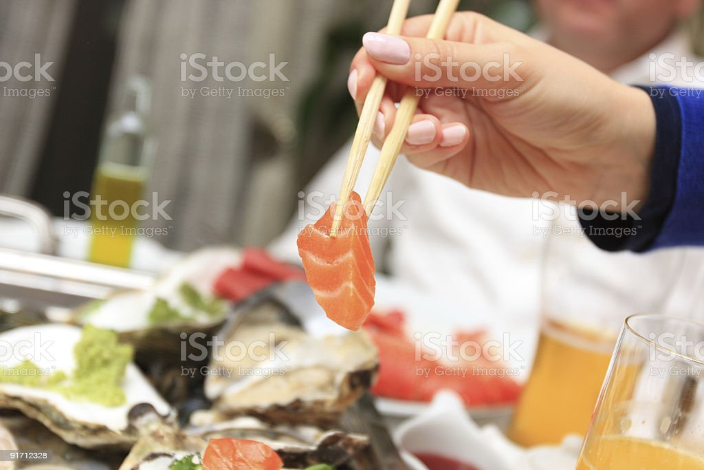 Fish restaurant royalty-free stock photo