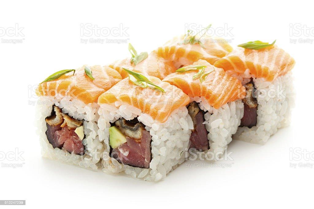 Fish Roll stock photo