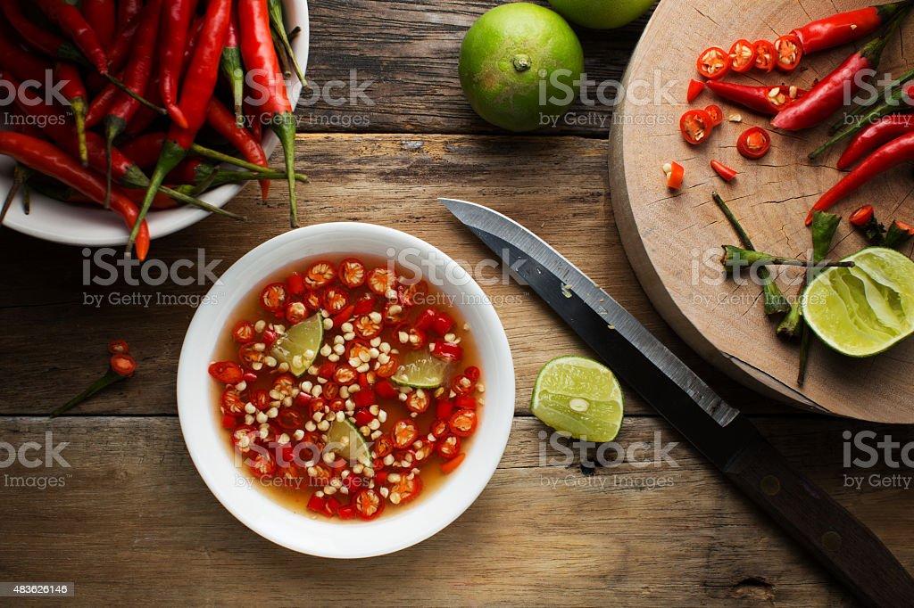 Fish Sauce stock photo