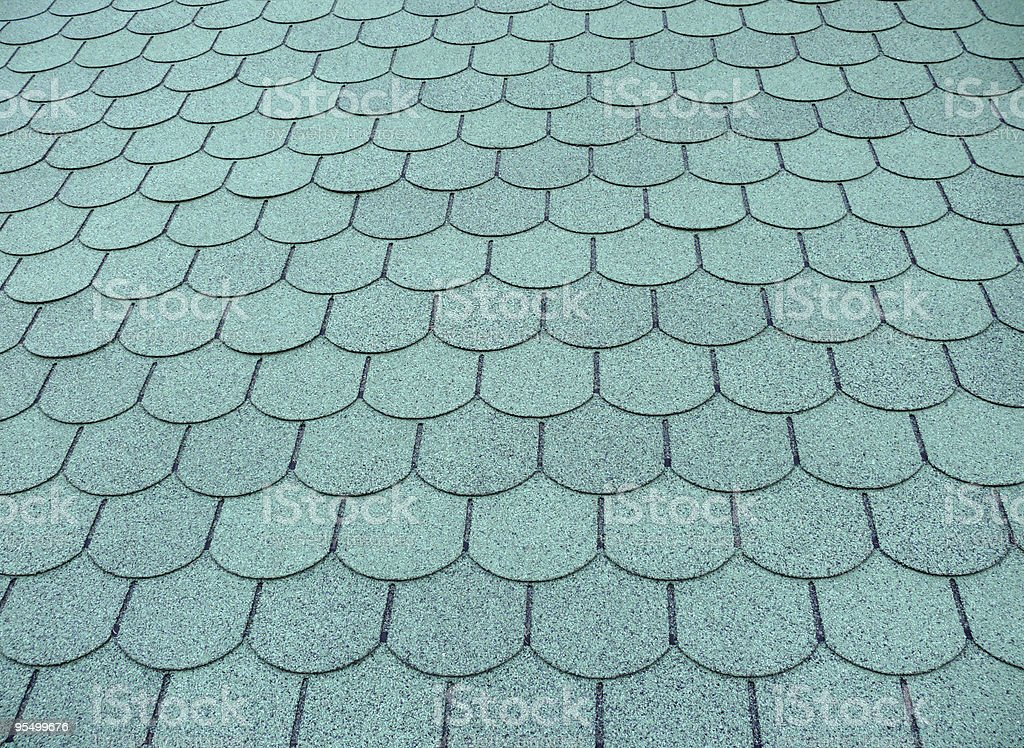 Fish Skala Dach-Muster Lizenzfreies stock-foto