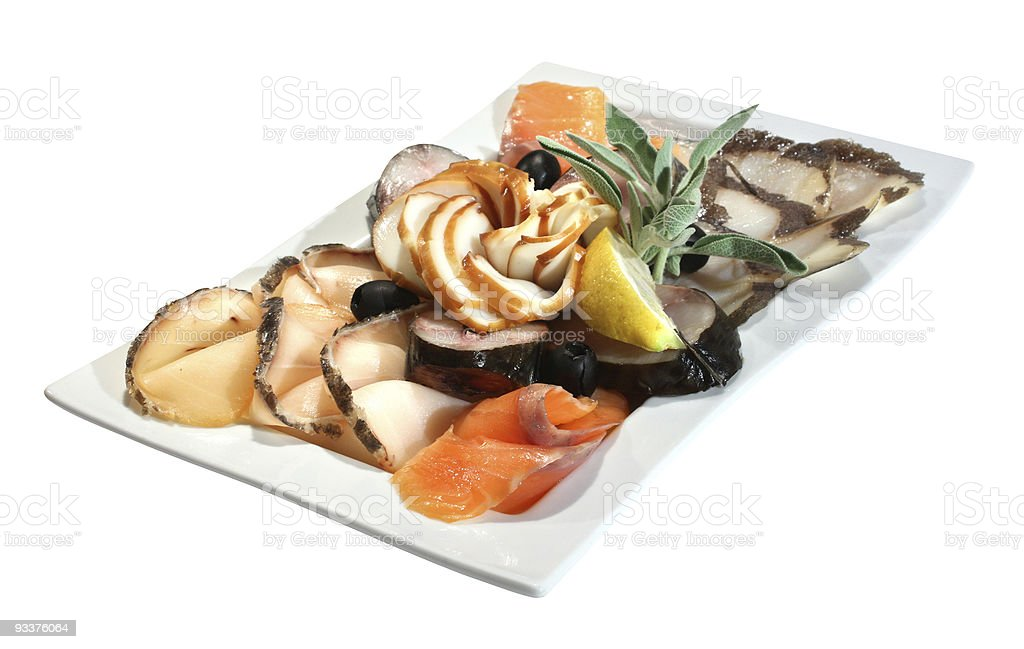 Fish snack royalty-free stock photo