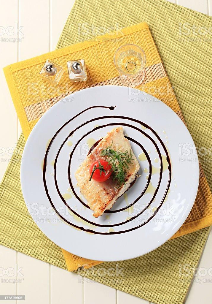 Fish starter royalty-free stock photo
