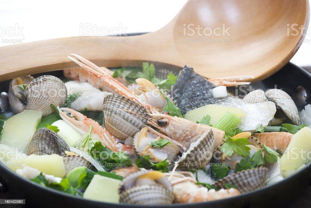 fish stew royalty-free stock photo