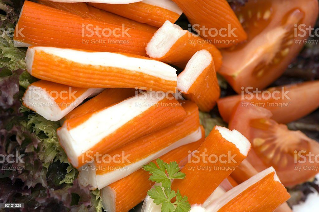 fish sticks royalty-free stock photo