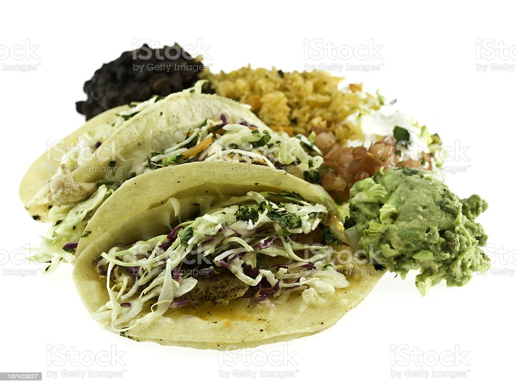 Fish Tacos stock photo