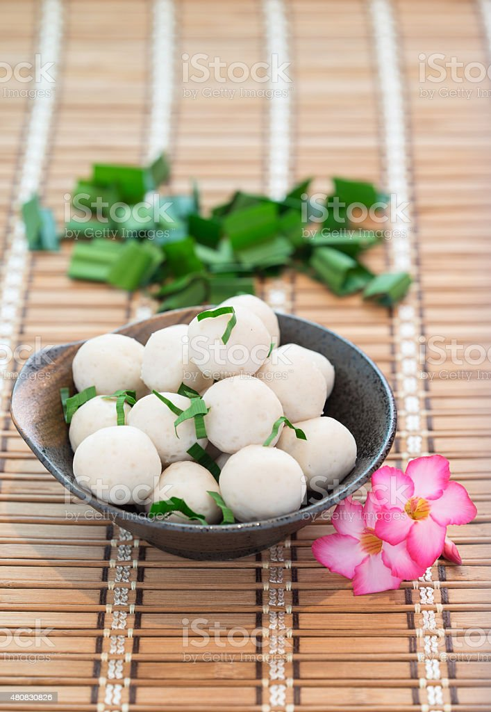 Fishballs stock photo