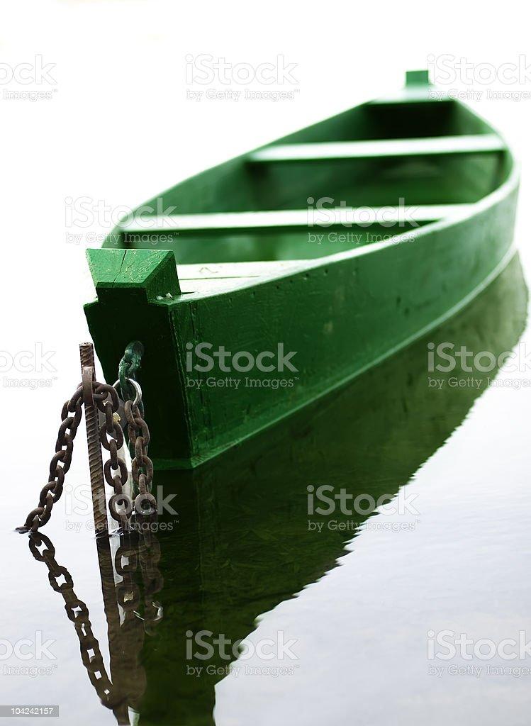 Fish-boat stock photo