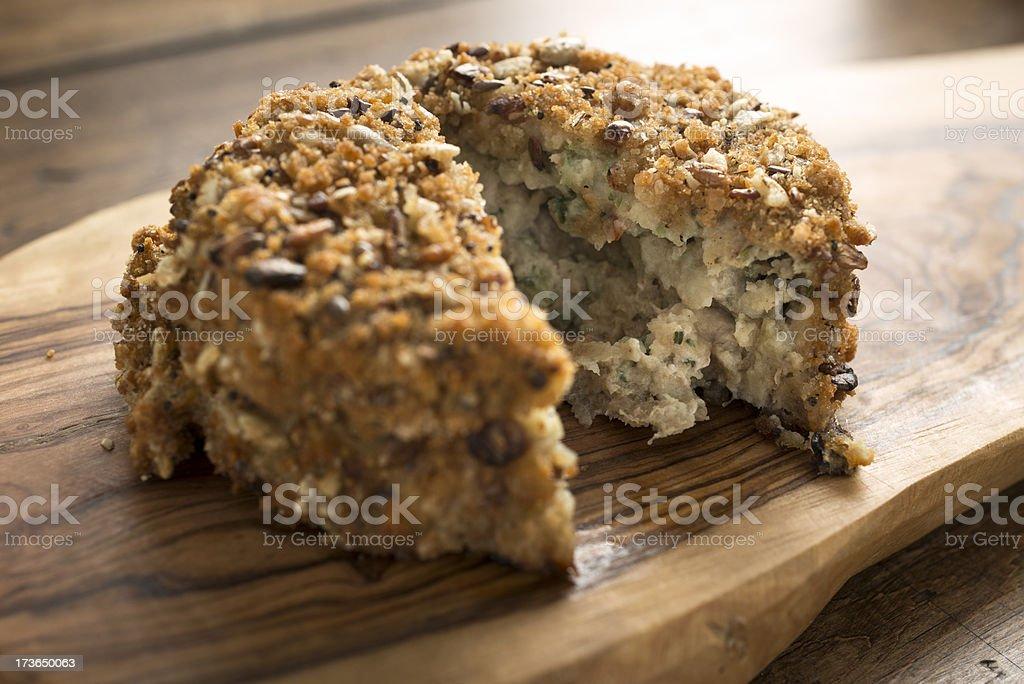 Fishcake stock photo