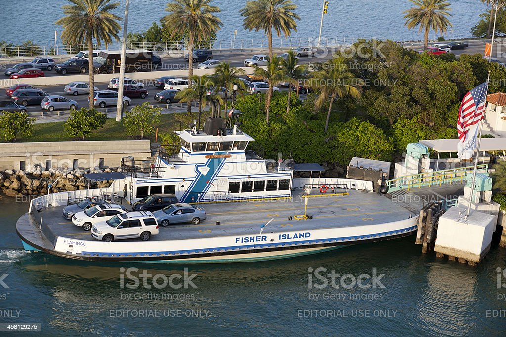 Fisher Island Ferry royalty-free stock photo