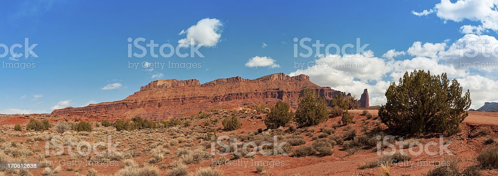 Fisher Towers, Moab, Utah, USA royalty-free stock photo