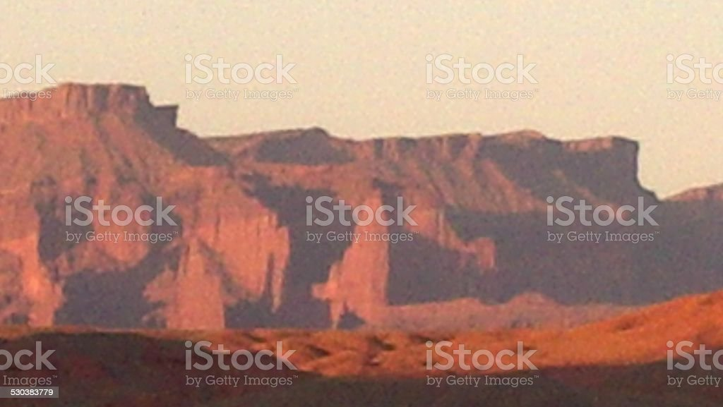 Fisher Towers1 stock photo