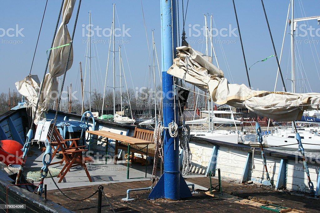 Fisherboat royalty-free stock photo