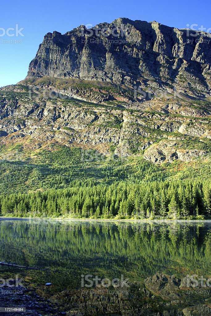 Fishercap Lake royalty-free stock photo