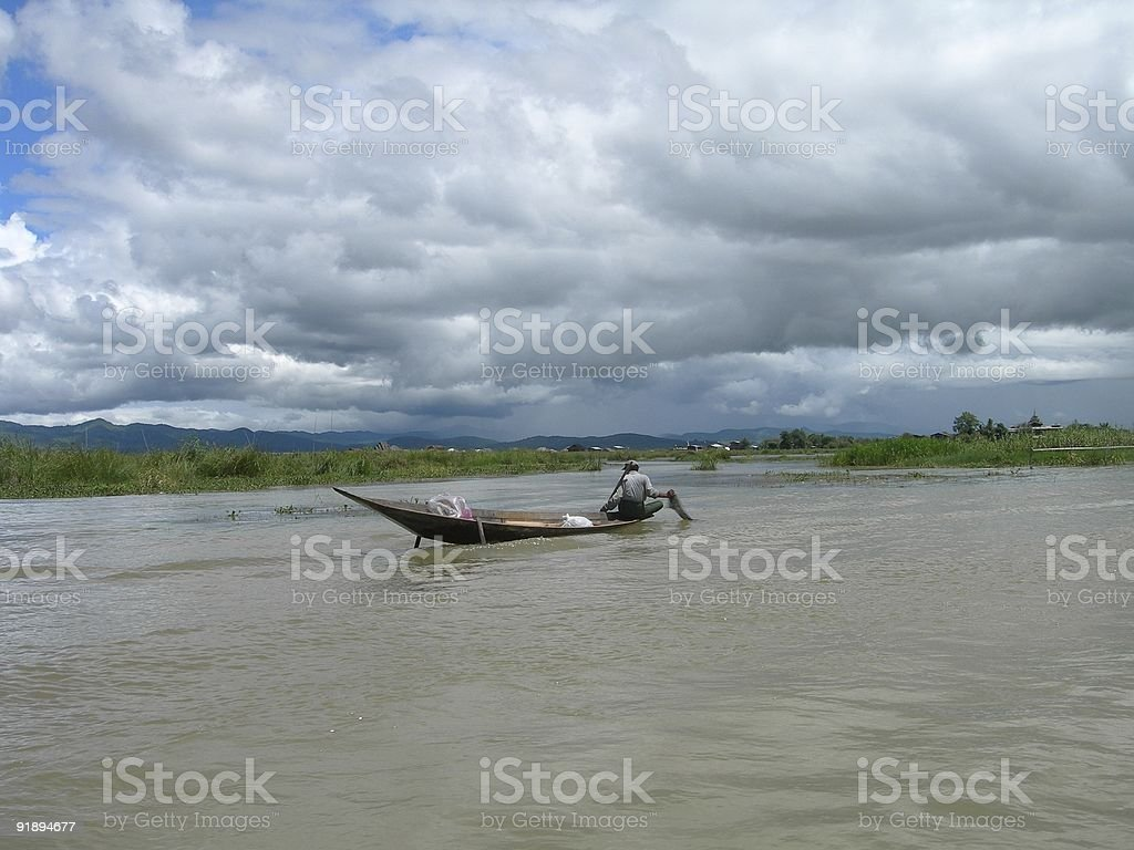 Fisherman 03 royalty-free stock photo