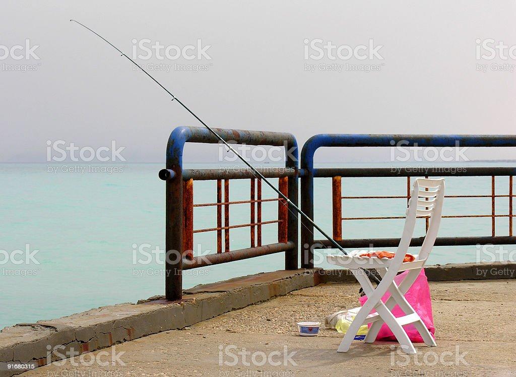 Fisherman Chair stock photo