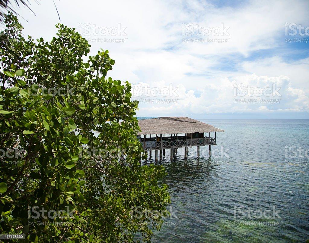 Cabane de pêcheur ! photo libre de droits