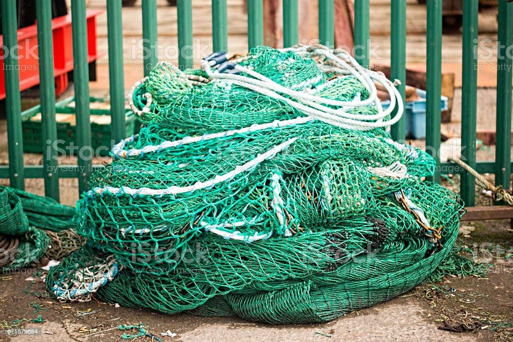 Fisherman nest stock photo