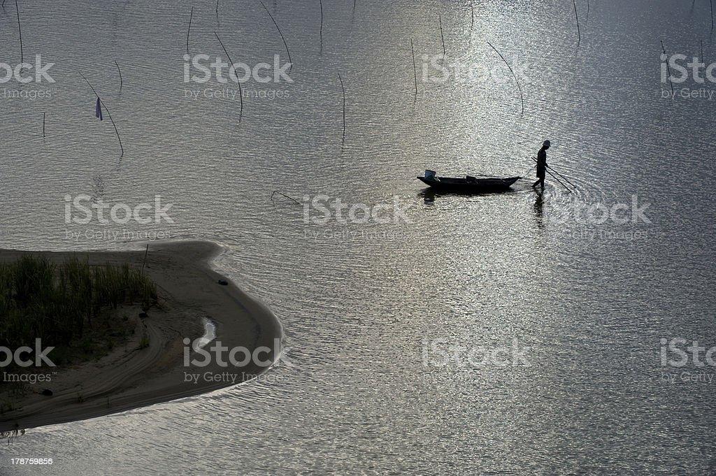Fisherman #2 royalty-free stock photo