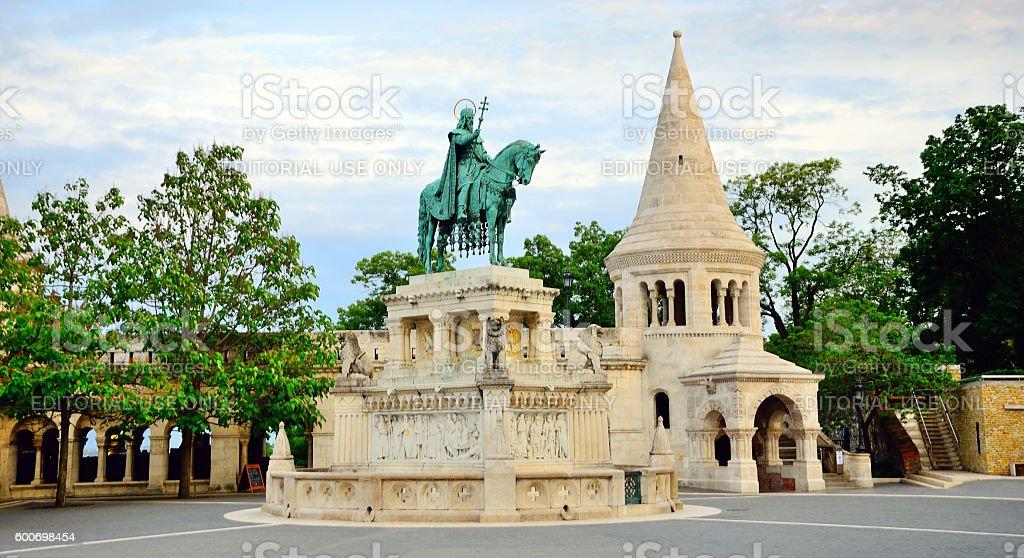 Fisherman's Bastion, Budapest stock photo