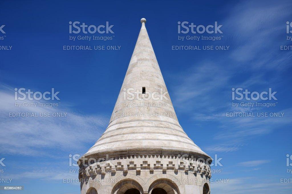 Fisherman's Bastion dome stock photo