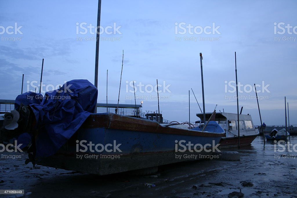 Fisherman's Boats stock photo