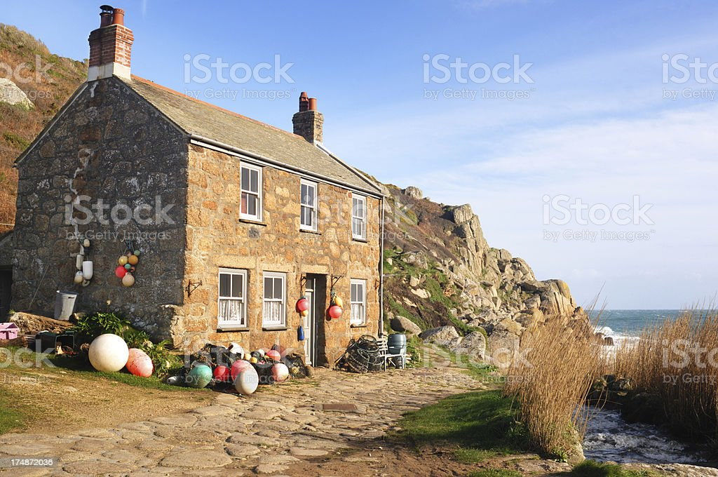 Fisherman's Cottage stock photo