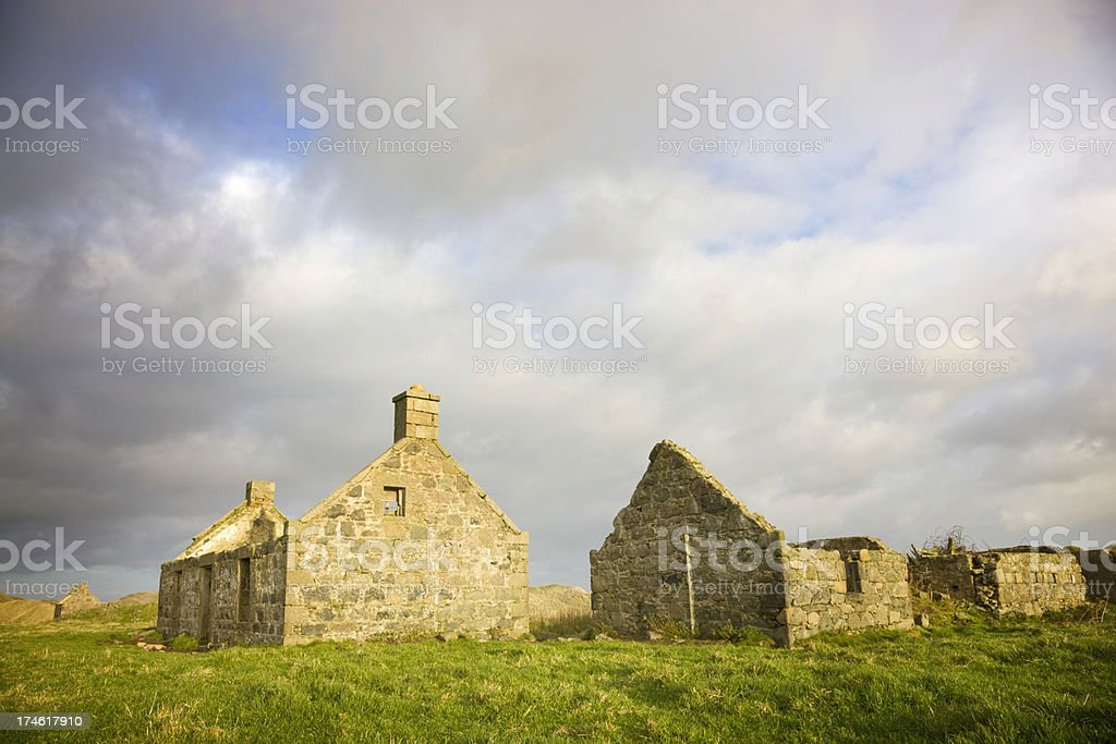 Fisherman's Cottages stock photo