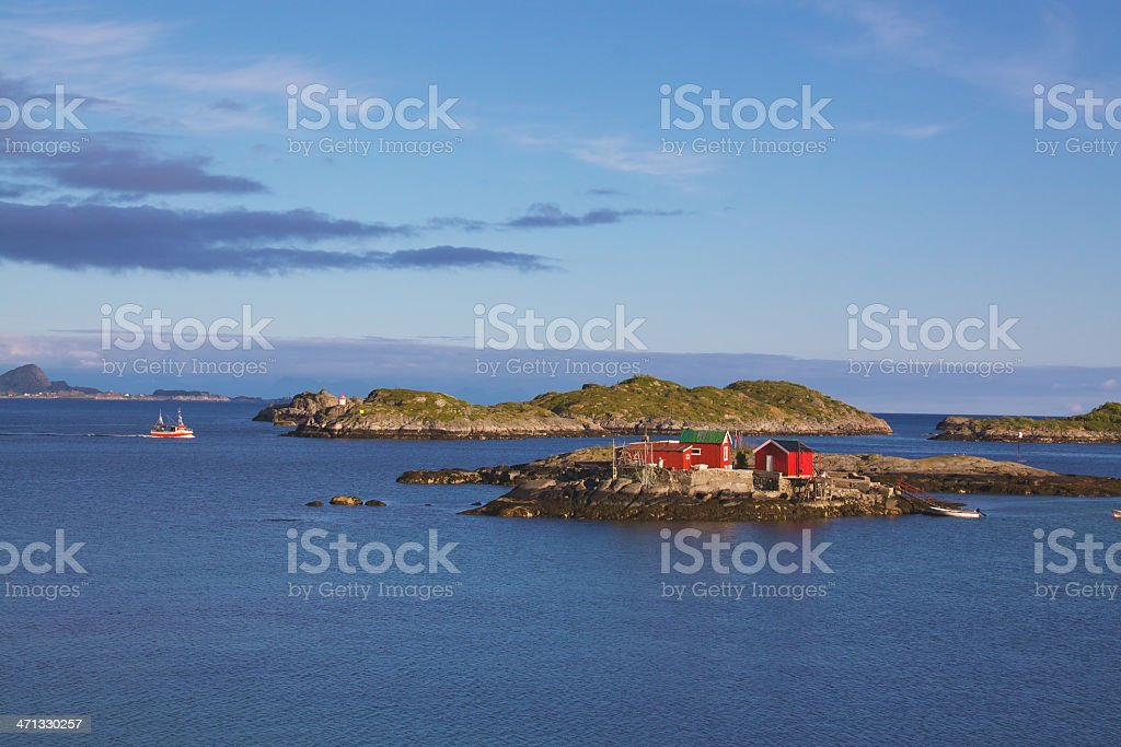 Fisherman's house royalty-free stock photo