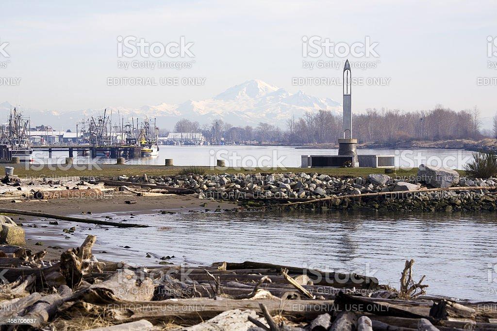 Fisherman's Memorial Needle stock photo