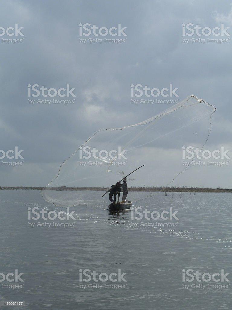 Fisherman's Net stock photo