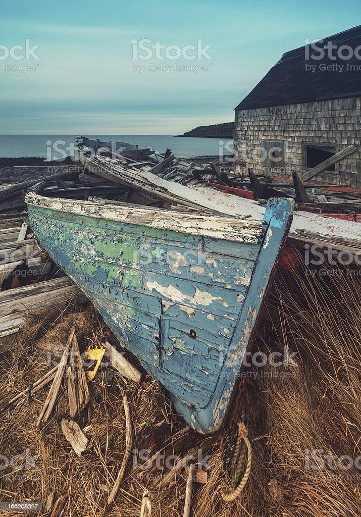 Fisherman's Past royalty-free stock photo