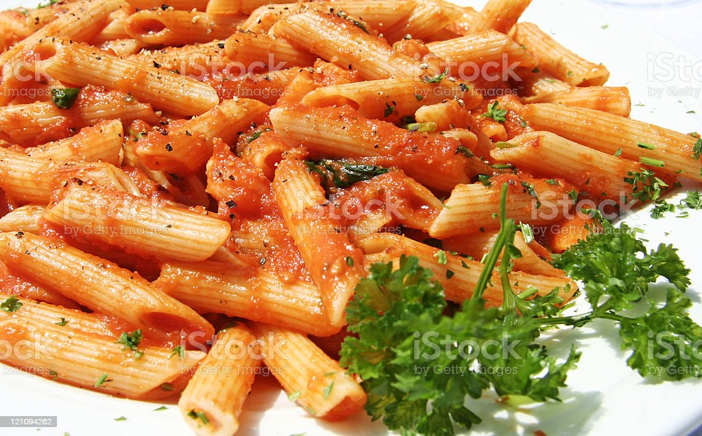 Penne Del Pescatore royalty-free stock photo