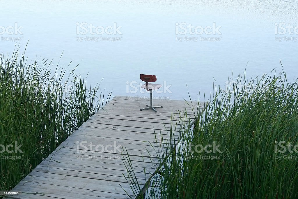 Fisherman's place royalty-free stock photo