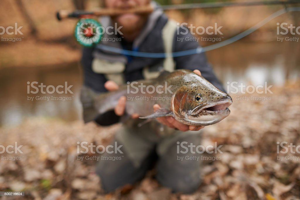 Fisherman's pride stock photo