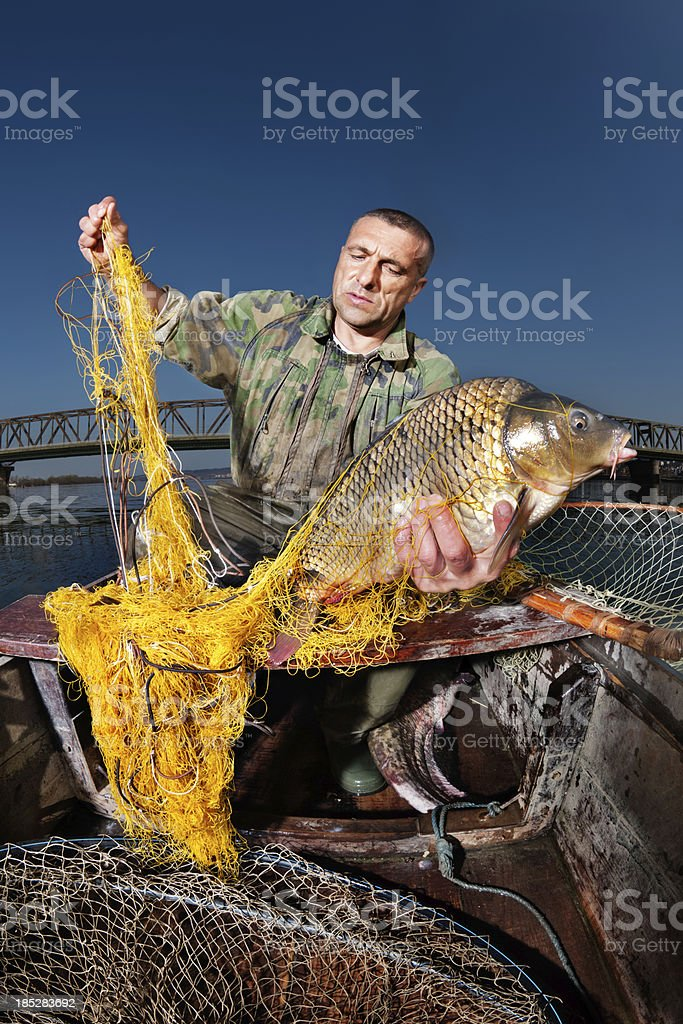 Fisherman's Tale royalty-free stock photo