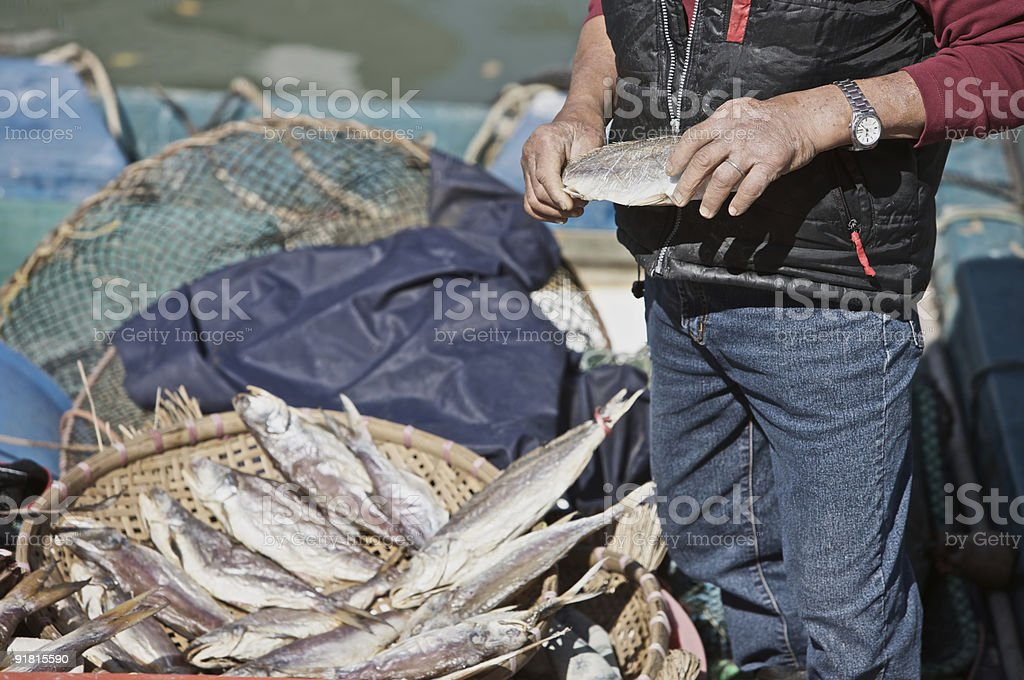 Fisherman's Wares royalty-free stock photo