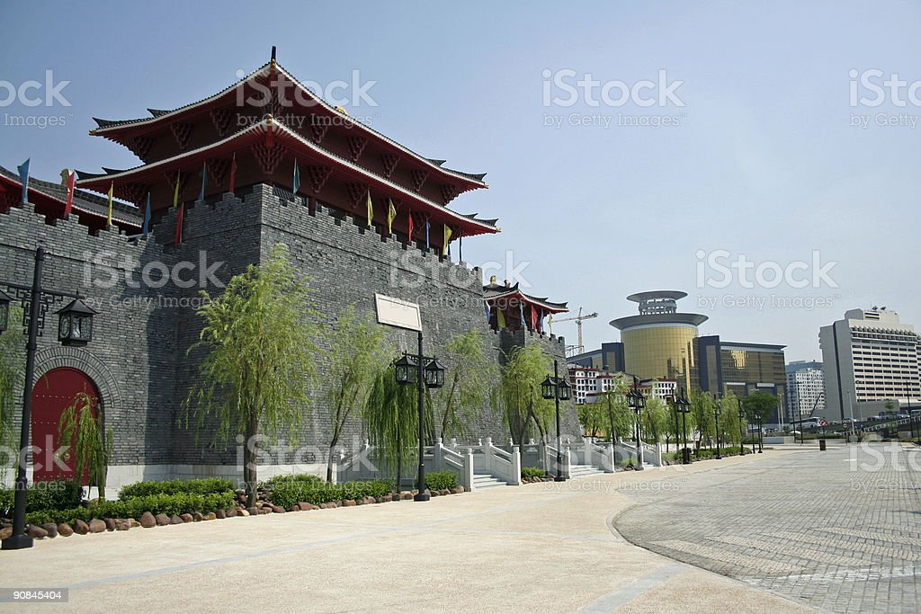 fishermans wharf macau royalty-free stock photo